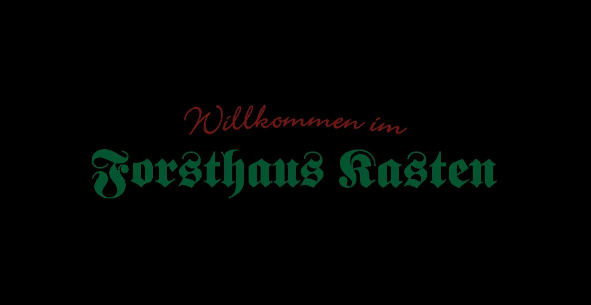 Gaststätte Wirtshaus Forsthaus Kasten Eventlocation München | Biergarten Logo